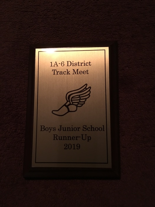 Marvell-Elaine School District Junior Track Boys