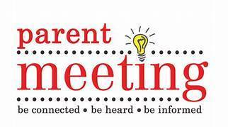 Junior and Senior Parent Meeting